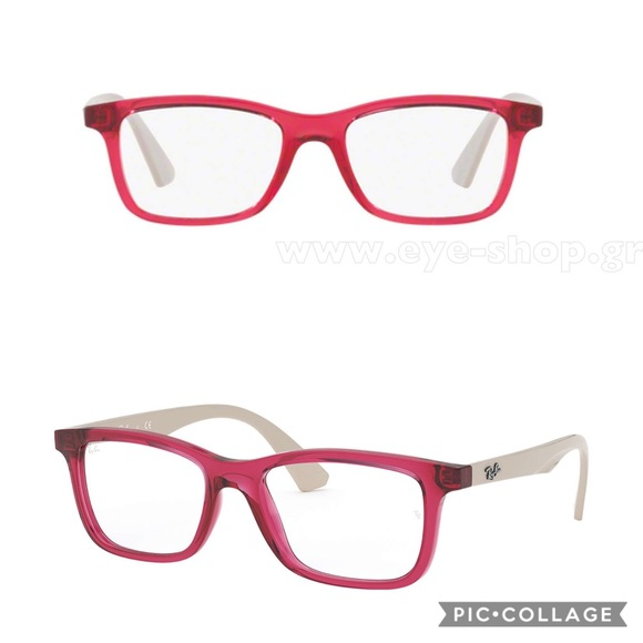 af8c0531342c Ray-Ban Accessories | Rayban Kids 1562 Red Grey Rectangular ...